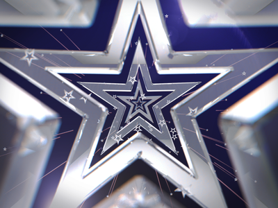 Glass Stars 2 dof render 3d glass stars