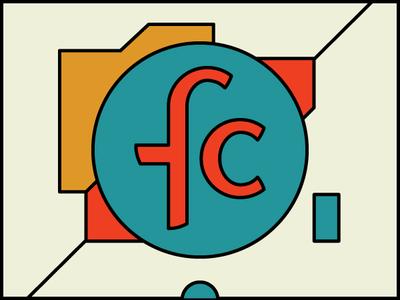 Logo logo geometric flat typography branding vector illustration identity design