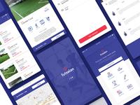 Ftsl App futsal app ux ui application
