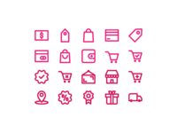 Shopping Outline icon