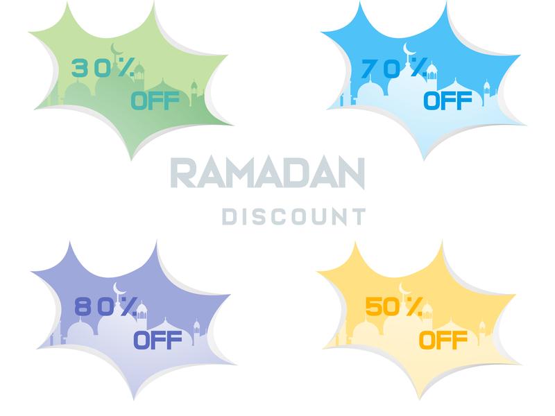 Ramadan discount template vector background template vector ramadan mubarak ramadan kareem ramadan