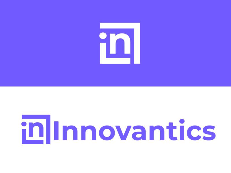 Logo for software development company presentation branding design logo