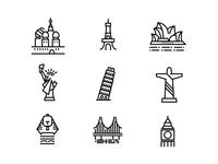 城市建筑icon