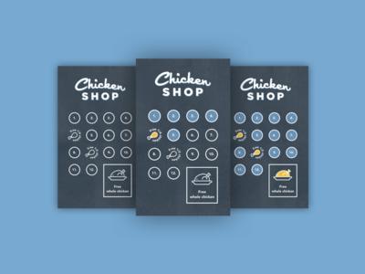Chicken Shop digital loyalty card