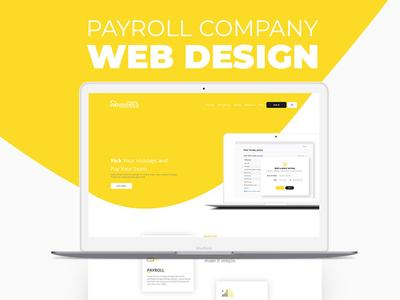 Payroll Company Web Design