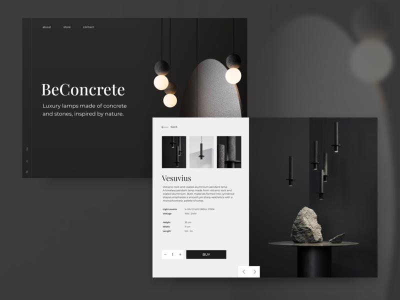BeConcrete - Luxury Lamps