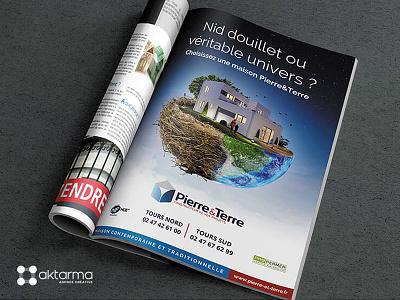Dribbble Pierre Et Terre Nid marketing communication print photomontage