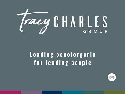 Tracy Charles Logo trademark print conciergerie logo