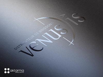 Venus Dis logo typography illustration logotype print logo