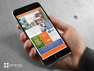 Terre et Demeure website architecture house builder house building building house development web website
