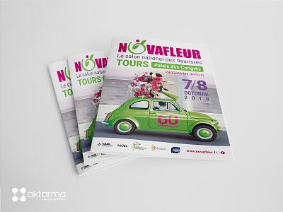 Plaquette - Salon Novafleur à Tours print