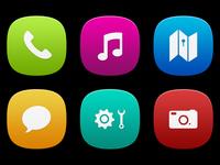 MeeGo Icons - Free PSD