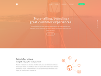 Landing page preview (work in progress)