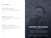 New portfolio/blog
