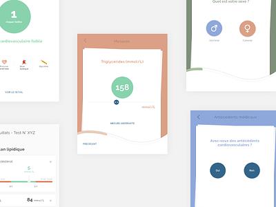 Screening typography web typeface logo font app design app vector handmade dribbble medical health e-health ux ui product design design illustration