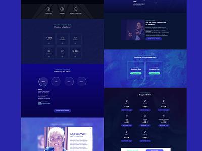 Hello Tomorrow website ux ui ux tomorrow hello webdesign