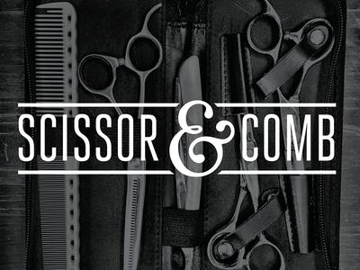 scissor & comb