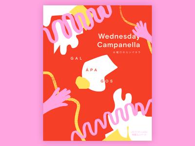 Tour Poster –Wednesday Campanella