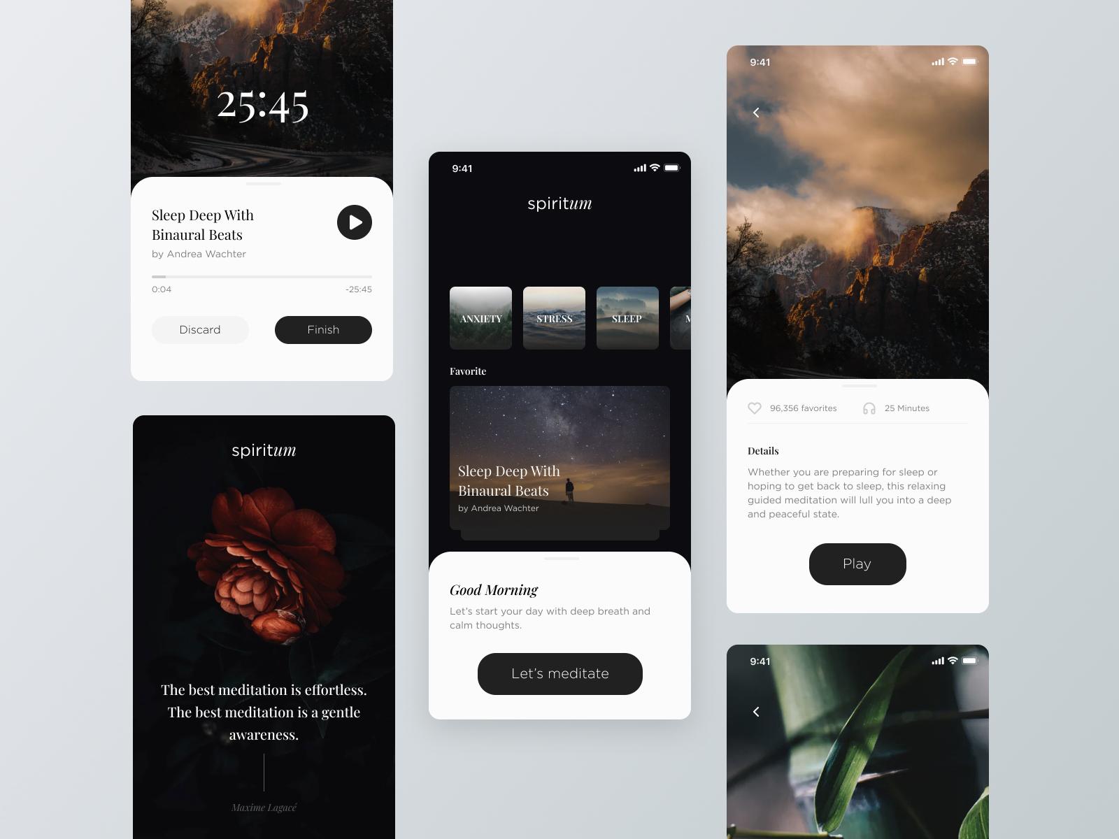 Spiritum  | Mobile Application