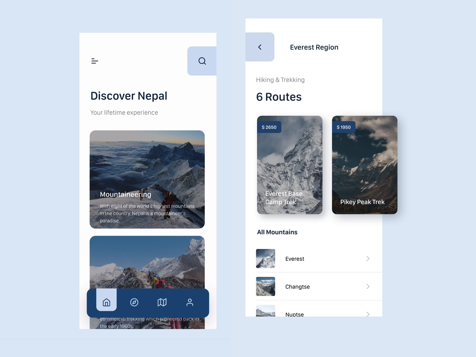 Welcome to Nepal  | Mobile Application