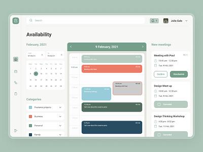 Meettime   Dashboard planning desktop available events agenda schedule meetup meeting timeline branding website minimal design interface ux ui