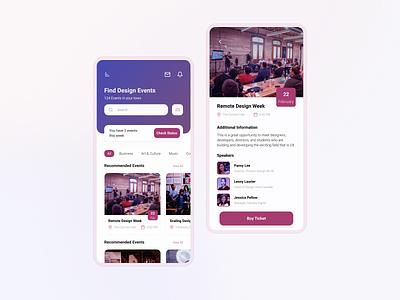 MeetUp App  | Mobile Application ios application calendar design toronto meetups meetings calendar schedule events meetup meet app minimal design interface ux ui