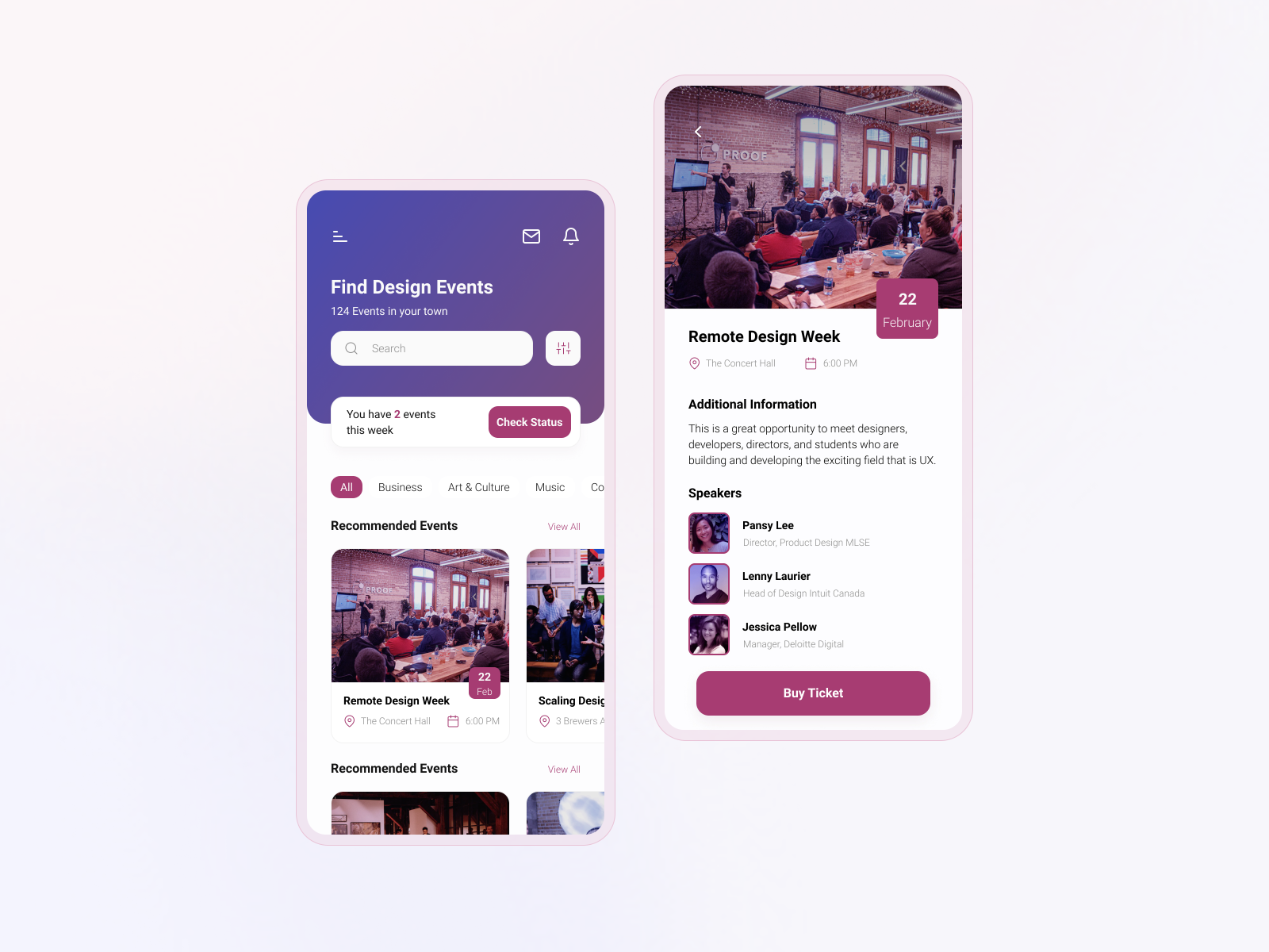 MeetUp App  | Mobile Application