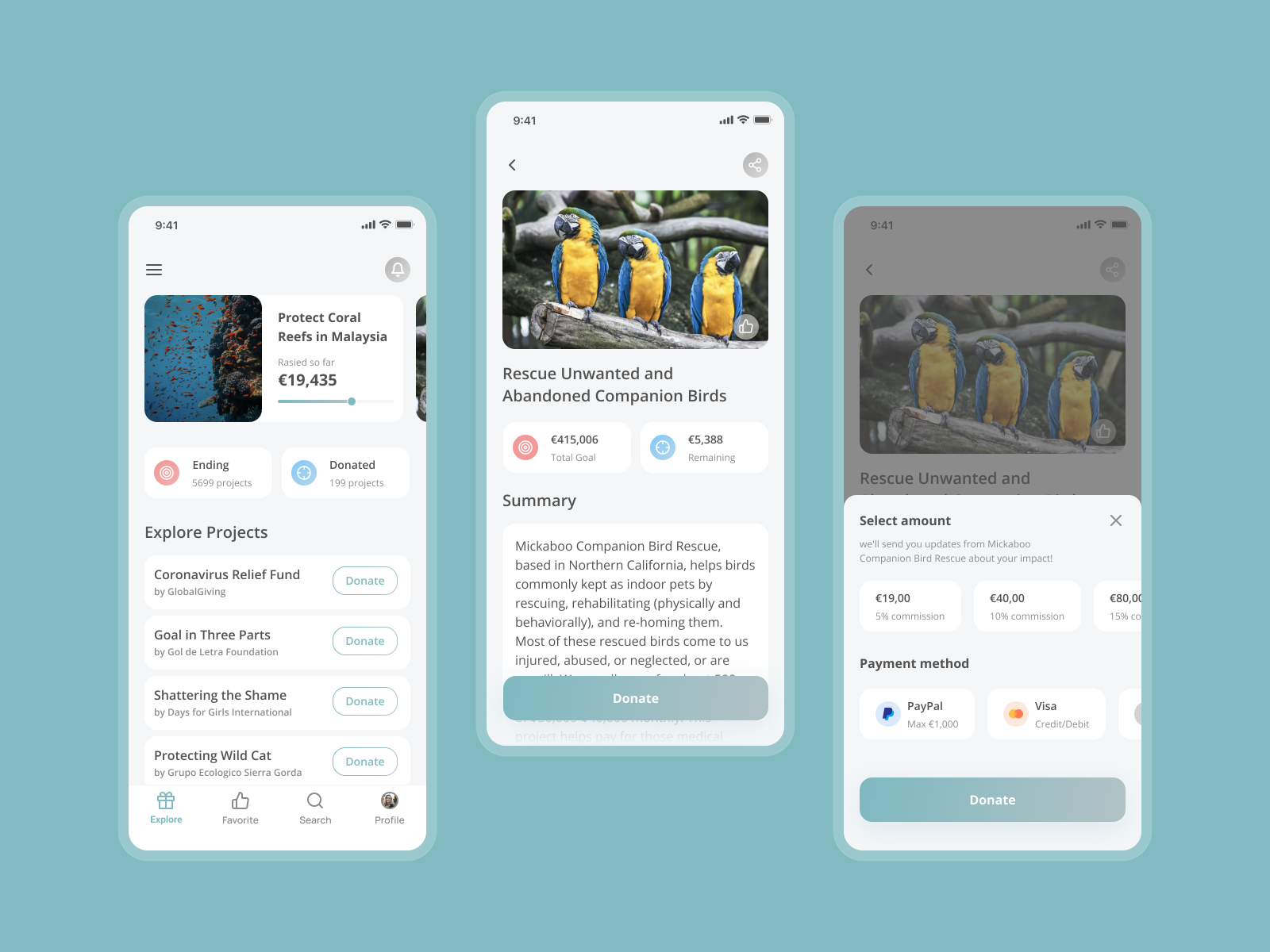 GlobalGiving | Mobile Application