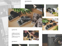 The Memory | Landing Page