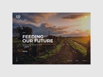 Articles Grid Animation | Food Alternatives animation article page alternative ants food page interface website minimal design web ux ui