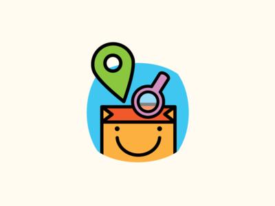 lookup service online stores logo