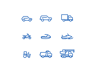 Free transport Icons icons