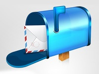 Mailbox & Letter