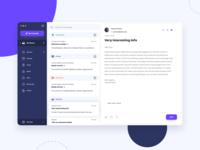 Desktop Mail app concept
