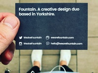 Fountain Business Cards