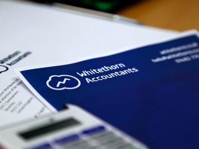 Whitethorn Accountants Document Close Up