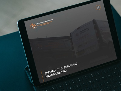 ATR Building Services Homepage Screenshot