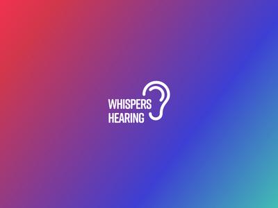 Whispers Hearing Branding Identity