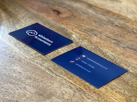 Whitethorn Accountants Business Cards