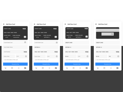 Card Checkout android ux 002 daily ui design ui mobile