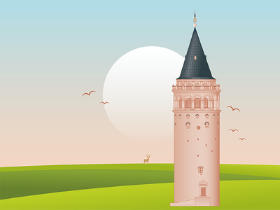 Istanbul Galata Tower constantinople galata kulesi galata tower kule turkish architecture tower galata istanbul