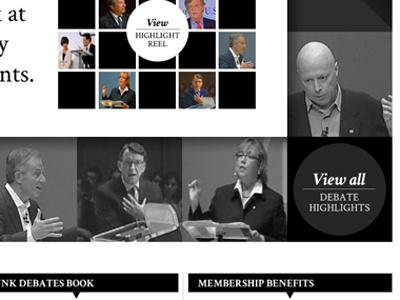 Debates Website debate website black and white