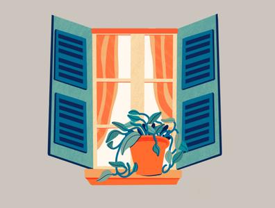 My First Pothos sticker color design vector illustration