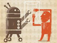 Robot Human Crop