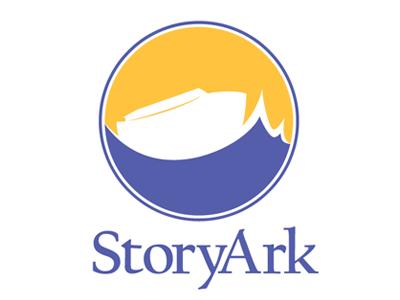 StoryArk Version 1 non-profit waves ocean ark design logo storyark