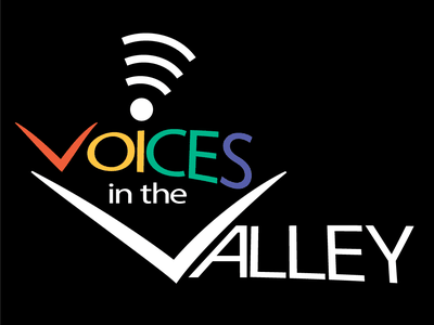 Voices in the Valley Logo creative wisdom design logo clean simple non-profit