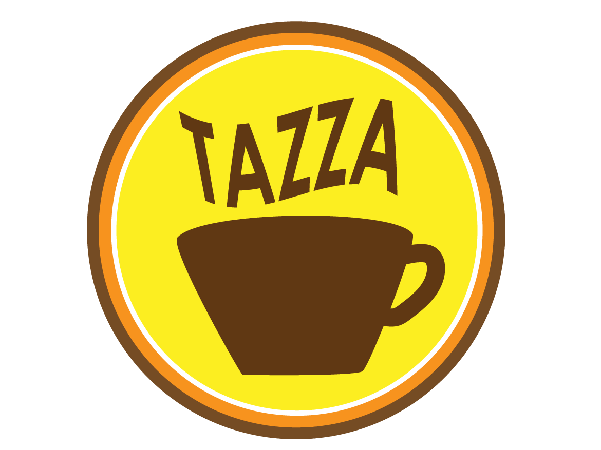Daily Logo Challenge - Day 06 warm colors coffee shop logo logo challenge daily logo challenge branding logo design