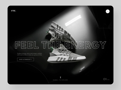 Shoe Brand Website Design website ux ui design shoes store branding design branding ecommerce website design webdesign shoe store shoes app reebok nike trainers shoes