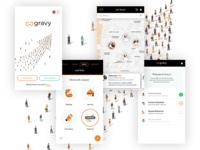 Employment Finder Mobile App Designs