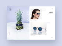 eCommerce Designs for a New Sunglass Brand
